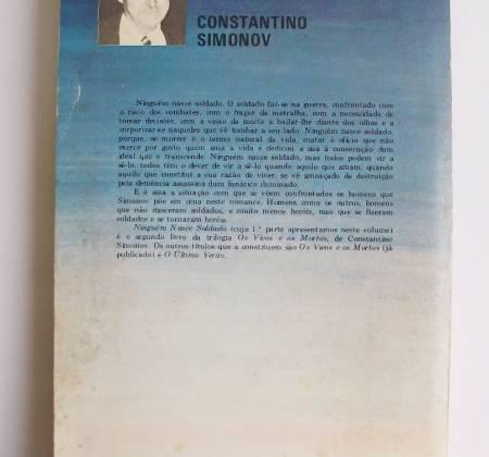 Ninguém Nasce Soldado 1ª parte - Constantin Simonov