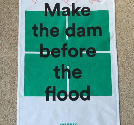Goat - Signed tea towel | Field Day Festival 2016