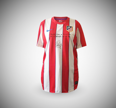 Signed shirt of Tiago Mendes | Atletico Madrid (2014/2015)