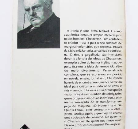 O homem que era 5ª feira – G. K. Chesterton