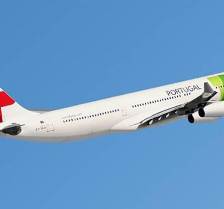 Cadeira dupla de executiva do avião A340 da TAP | 1