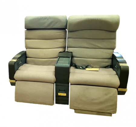Executive double chair TAP A340 airplane | 7