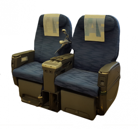 Executive double chair TAP A330-200 airplane | 9
