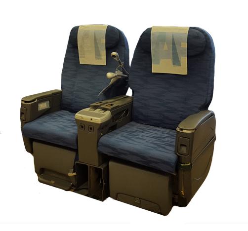 Cadeira dupla de executiva do avião A330-200 da TAP | 9