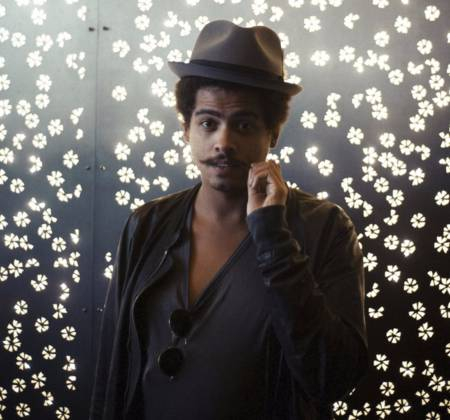 A selection of Seth Troxler's personal vinyl collection