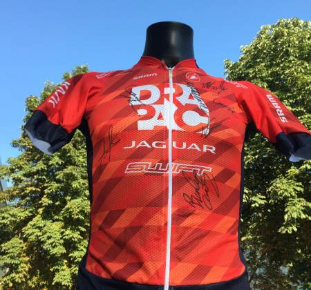 Autographed jersey by DRAPAC team - Australia - Volta a Portugal
