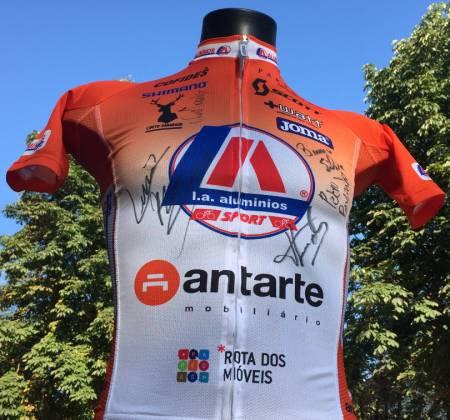 Camisola autografada pela equipa LA Antarte - Portugal - Volta a Portugal