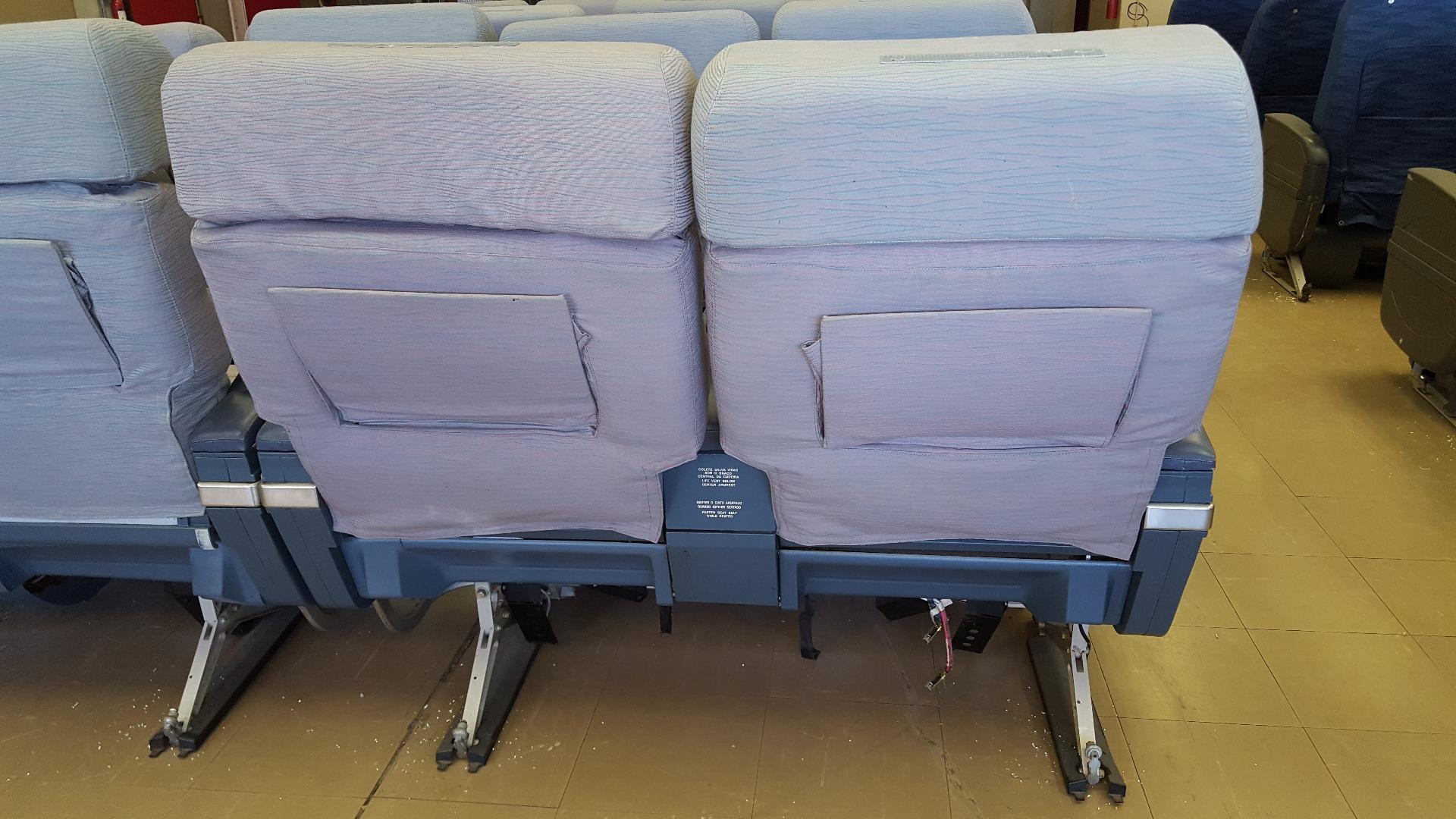 Cadeira dupla de executiva do avião A340 da TAP   17