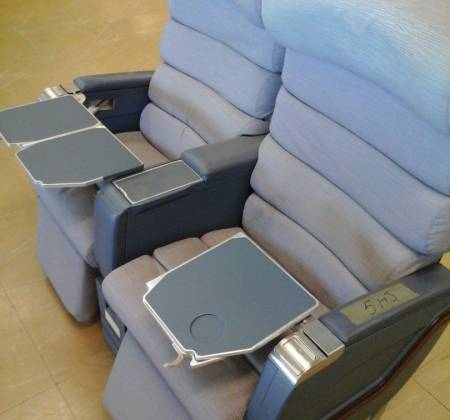 Executive double chair TAP A310 airplane | 1