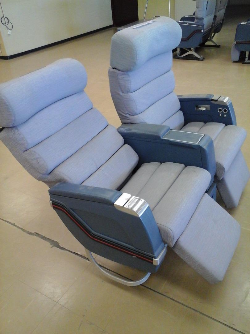 Cadeira dupla de executiva do avião A310 da TAP   7