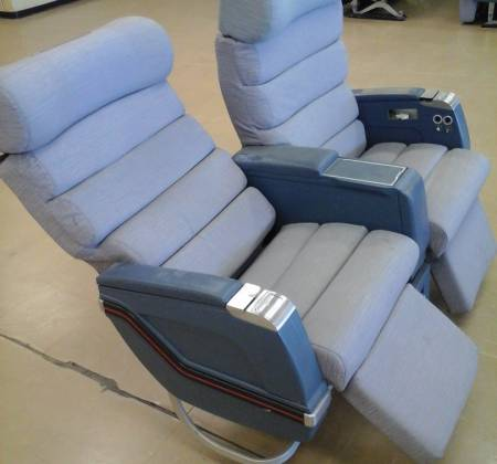 Executive double chair TAP A310 airplane | 8