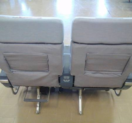 Executive double chair TAP A310 airplane | 11