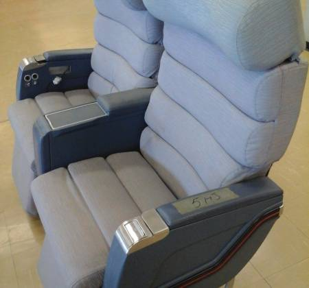 Executive double chair TAP A310 airplane | 12