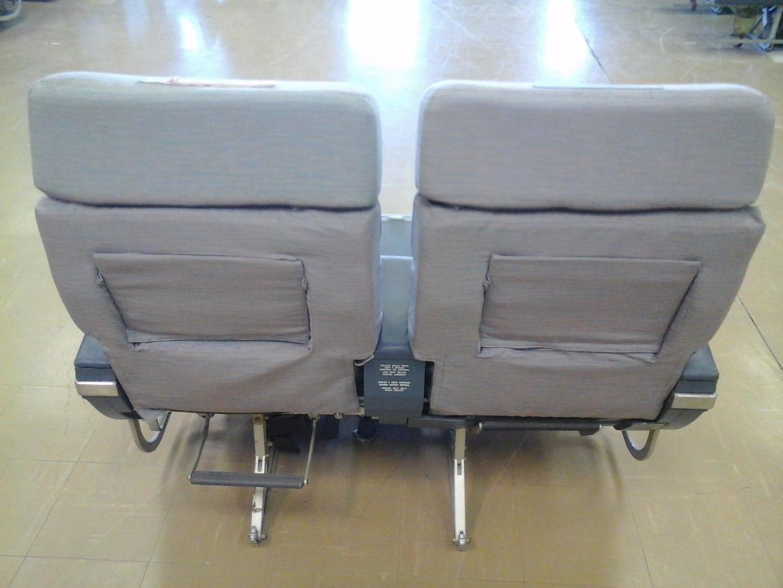 Cadeira dupla de executiva do avião A310 da TAP | 15