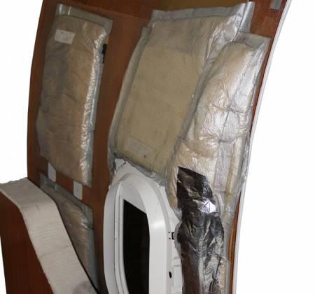 Painel lateral grande da janela do avião A319 da TAP | 45