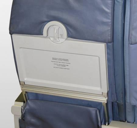 Cadeira tripla de executiva do avião A319 da TAP | 17