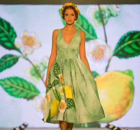 Tetley Dress Green Soul