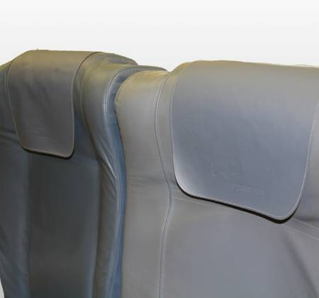Cadeira tripla de económica do avião A319 TTO da TAP - 22