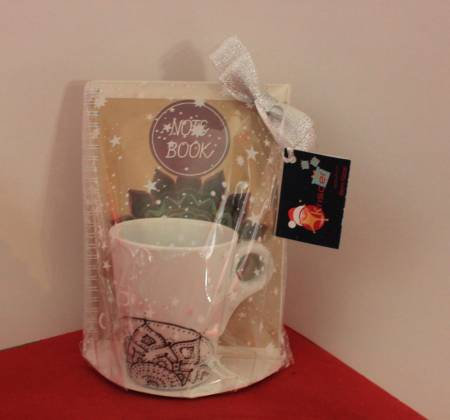 Kit Caneca+Notebook Mandalas