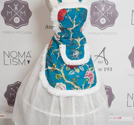 Cooking apron tailored by Filipa Gomes (Chef de Cuisine)