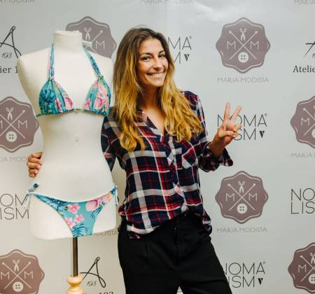 Bikini tailored by Isabel Figueira