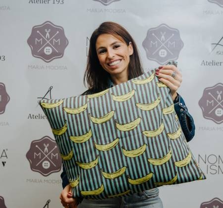 Pillow tailored by Joana Cruz