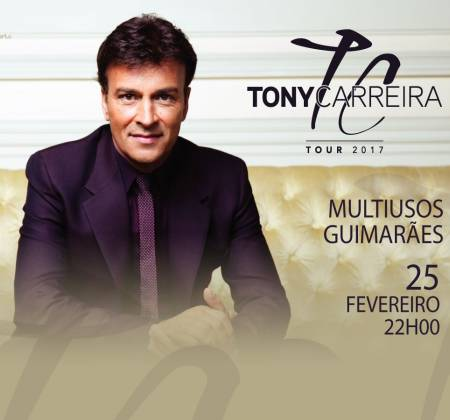 2 Tickets + New CD signed by Tony Carreira