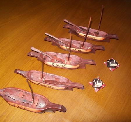 Pequeno barco - S. Tomé e Príncipe