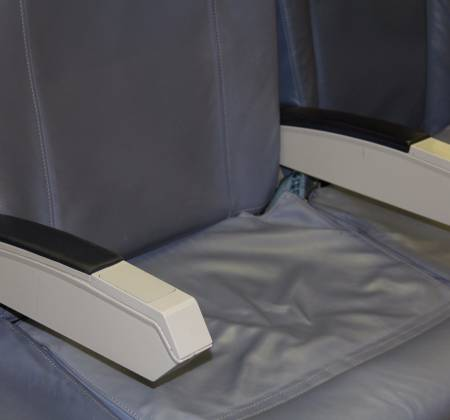 Economic triple chair from TAP A319 CS-TTM airplane - 7