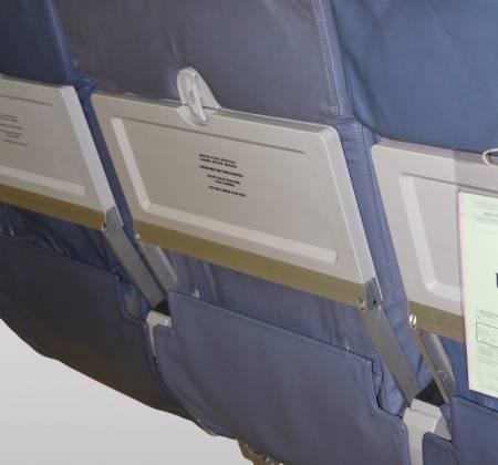 Cadeira tripla económica do avião A319 CS-TTM da TAP - 7