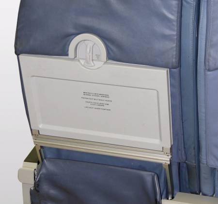 Cadeira tripla de executiva do avião A319 TTO da TAP - 30