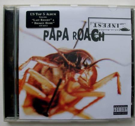 CD Papa Roach - Infest