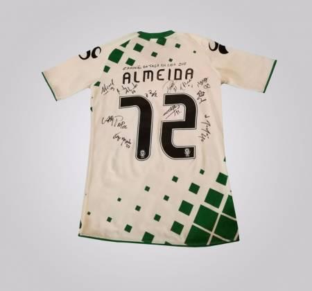 Camisola autografada pelo vencedor da Taça da Liga2017 - Moreirense FC
