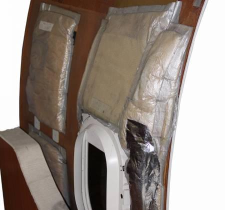 Painel lateral (pequeno) do avião A319 CS-TTP da TAP