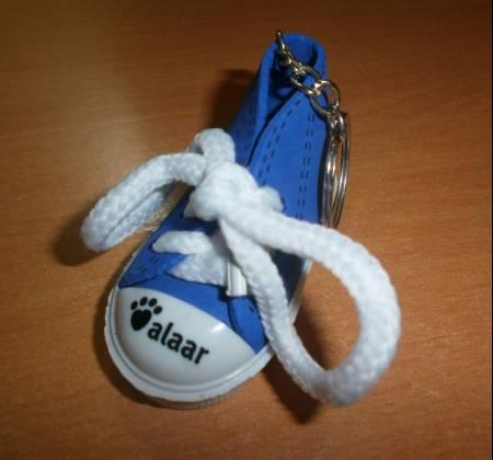Botinha porta-chaves - Alaar