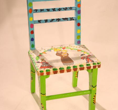"""Chair """"Santos Populares"""" - Darte Sessions"""