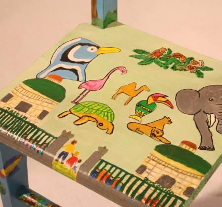 """Cadeira """"Jardim Zoológico """" - Sessões Darte"""