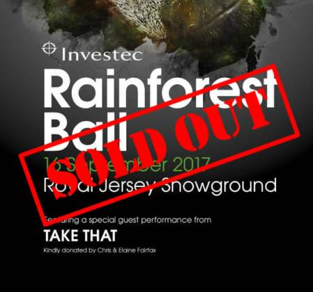 2 tickets to Take That at The Investec Rainforest Ball