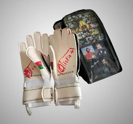 Glove of goalkeeper coach Hugo Oliveira, signed by himself