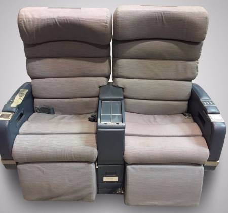 Double chair without TV from TAP airplane - 3