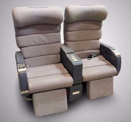 Double chair without TV from TAP airplane - 1