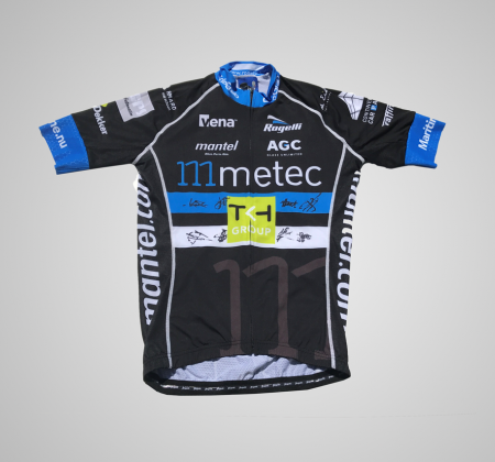Autographed jersey by Metec Team - Volta a Portugal