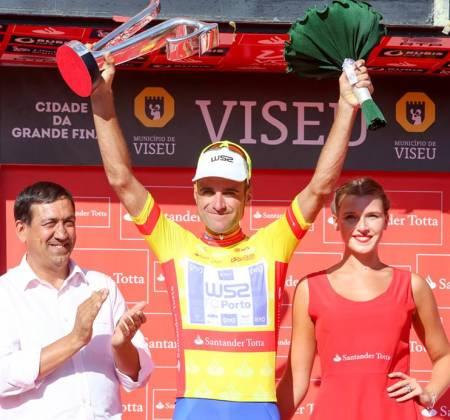Camisola Amarela autografada por Raúl Alarcón - Volta a Portugal