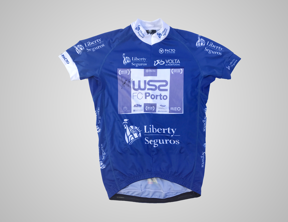 Blue jersey autographed by Amaro Antunes - Volta a Portugal