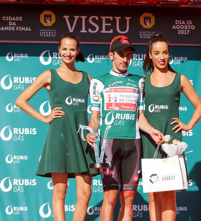 Camisola Verde autografada por Garcia de Mateos - Volta a Portugal