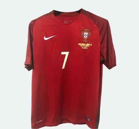 Camisola oficial do Euro 2016 de Cristiano Ronaldo