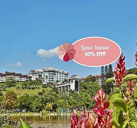 Fazzenda Park Hotel SC  1 diária para casal Pensão completa