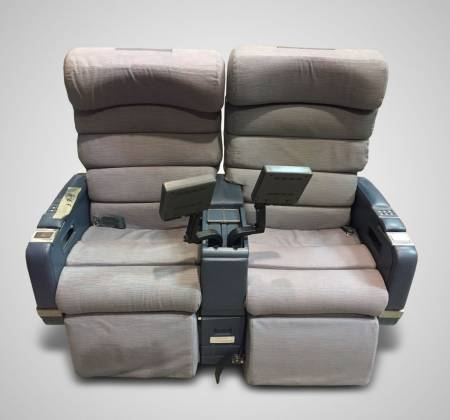Double chair with TV from TAP Air Portugal - 1