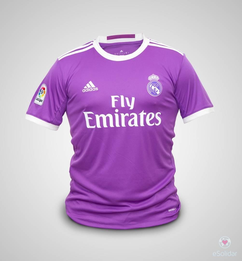 Real Madrid Shirt Signed By Cristiano Ronaldo Cr7