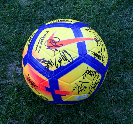 Nike ball signed by the team of the Sporting CP - Taça CTT Final Four